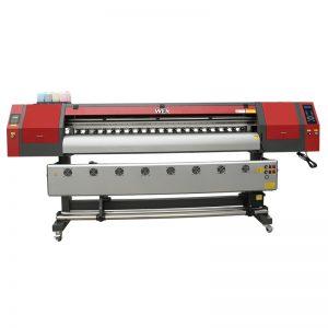 1.8m ფართო ფორმატის საღებავი sublimation printer სამი dx5 ბეჭდვითი ხელმძღვანელები მაისური ბეჭდვა WER-EW1902