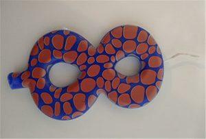 სანთლის ნიმუში 1 A2 ზომის UV პრინტერისგან