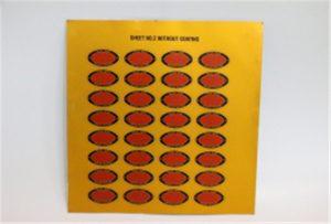 ლითონის ბეჭდვის ნიმუში A3 UV პრინტერი WER-E2000UV