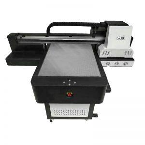 მცირე ზომის მაღალი ხარისხის ტელეფონი შემთხვევაში პლანშეტური UV პრინტერი WER-ED6090UV
