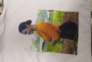 T პერანგი ბეჭდვის ნიმუში ამისთვის Burma კლიენტი WER-EP6090T პრინტერი