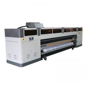 მაღალი რეზოლუციის მაღალი სიჩქარე ციფრული ჭავლური პრინტერის მანქანა ricoh gen5 ბეჭდვითი ხელმძღვანელი UV plotter WER-G-3200UV