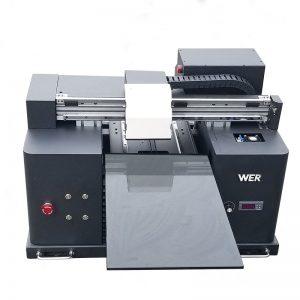 ხელმძღვანელობდა UV პრინტერის ფასი, A3 UV flatbed პრინტერი WER-E1080UV